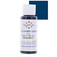 Темно-синий  для шоколада, глазури 18 мл Americolor TM