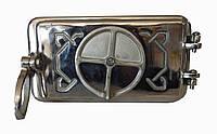 Чугунная зольная дверца (полированная) Dunántúl 24х11см-22х9см