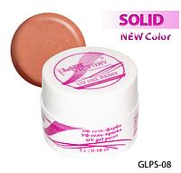 Цветная гель-краска с блестками для рисования на ногтях  Lady Victory LDV GLPS-08/9-0