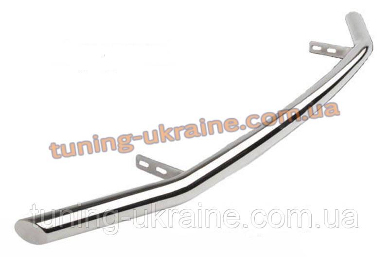 Защита переднего бампера труба одинарная D60 на Hyundai Tucson 2004-2009 - ООО Tuning Avto в Харькове