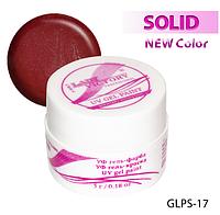 Цветная гель-краска с блестками для рисования на ногтях  Lady Victory LDV GLPS-17/9-0