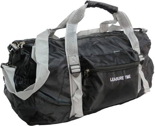 Складная сумка дорожно-спортивная Paso 32 л. BR-940 черный