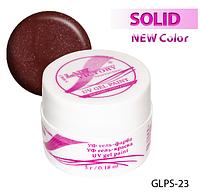 Цветная гель-краска с блестками для рисования на ногтях Lady Victory LDV GLPS-23/9-0