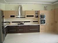 Кухня на заказ, рамочные фасады в AGT профиле