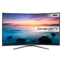 Телевизор Samsung UE49KU6500 (PQI 1600Гц, Ultra HD 4K, Smart, Wi-Fi, изогнутый экран)