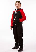 Детский спортивный костюм для девочки летний трикотажный 00-03