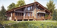 Клееный брус дом, клеёный брус цена, коттедж по финской технологии, коттедж Киев построить