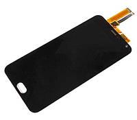 Дисплей для мобильного телефона Meizu M2 Note, черный, с сенсорным экраном