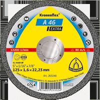 Круг отрезной А 46 Extra 125*1.6*22.23 мм GER Klingspor