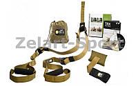 TRX Петли подвесные тренировочные Pack Force T2  (функц.петли, сумка, хаки)