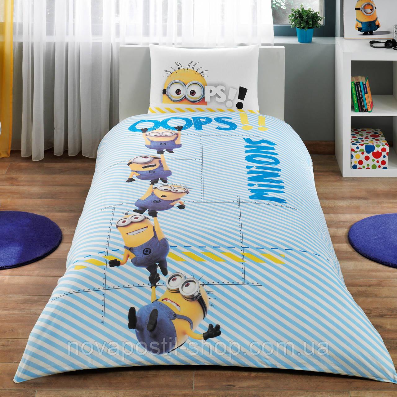 Комплект подросткового постельного белья MINIONS AT WORK