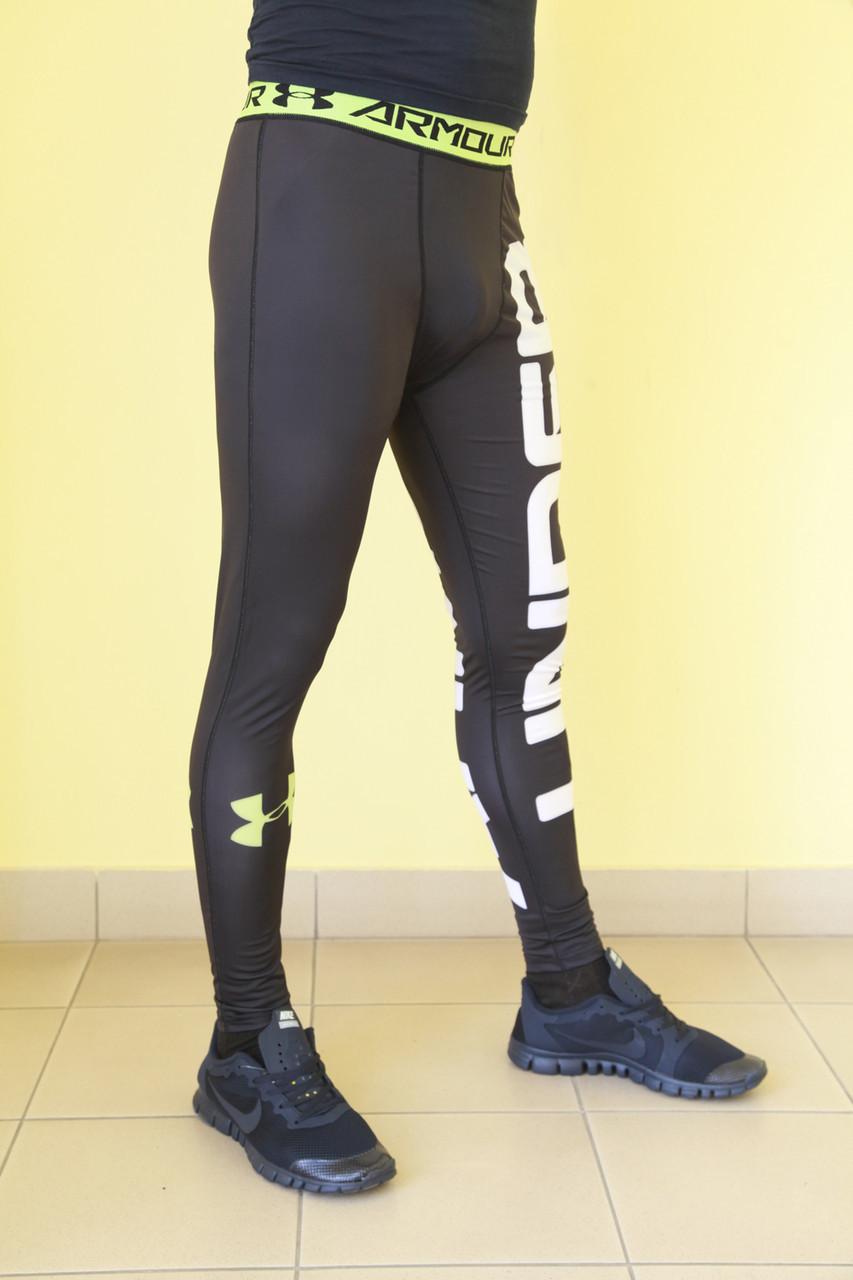 ... Мужские спортивные лосины XFit (8996) черно-салатовые код 376Б, ... 57c56fcb4ee