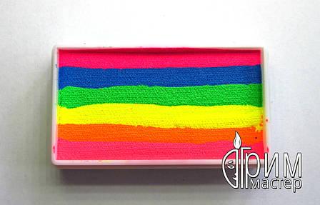 Аквагрим Diamond FX cплит кейк 28 g Цветовой всплеск, фото 2