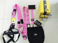 TRX Петли подвесные тренировочные PRO PACK HOME PINK P3    розовые