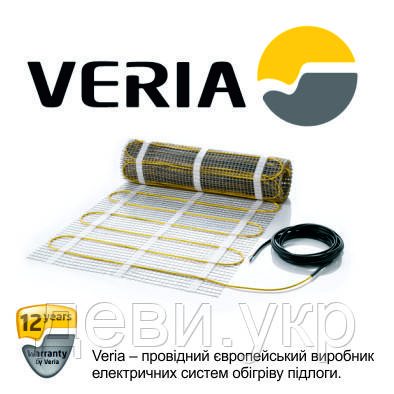 Нагревательный мат - Теплый пол Veria Quickmat 0,5 x 4м