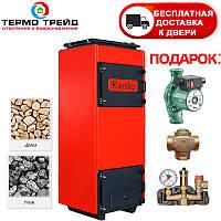 Котел длительного горения Amica Time C ( Амика Тайм С) 48 кВт с автоматикой и вентилятором
