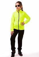 Детский спортивный костюм для девочки летний трикотажный 80-04
