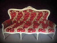 Диван итальянский. Мягкая мебель в стиле рококо и барокко.