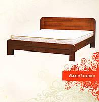 """Ліжко дерев'яне Тоскана МебіГранд / Кровать деревянная """"Тоскана"""" MebiGrand, фото 1"""