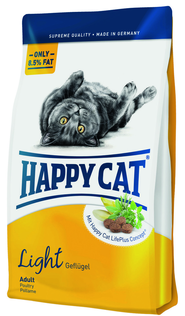 Корм для кошек склонных к ожирению Happy Cat Light