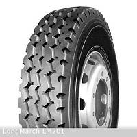 Грузовые шины на рулевую ось 315/80 R22,5 LongMarch LM201
