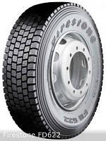 Грузовые шины на ведущую ось 295/80 R22,5 Firestone FD622