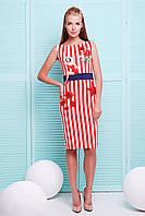 Женское платье в полоску | лето платье Лоя-1