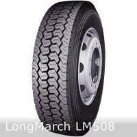 Грузовые шины на ведущую ось 225/70 R19,5 LongMarch LM508