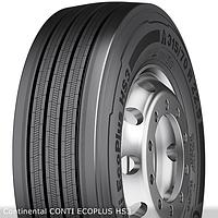 Грузовые шины на рулевую ось 315/80 R22,5 Continental CONTI ECOPLUS HS3