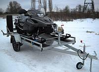 Прицеп для перевозки снегохода, Цинковое покрытие