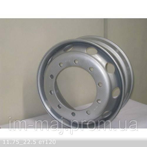 Грузовые диски 11,75*22,5 10*335 DIA281 ET120 Kapitan