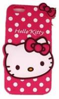 Чехол силиконовый на iphone 6 Hello Kitty