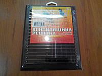 Решетка вентиляционная пластиковая Мм 215*175 коричневая