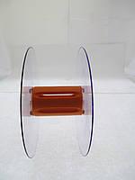 Катушка для мерных материалов : тесьма, ленты, нити, шнуры. Диаметр 121мм, диаметр катушки 35 мм, ширина 53 мм