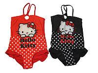 Купальник для девочек, Hello Kitty, размеры 6,8,12 р., арт. 910-117
