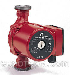 Насос GRUNDFOS UPS 25-60 180 циркуляционный для систем отопления