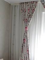 Текстильное оформление спальни  5