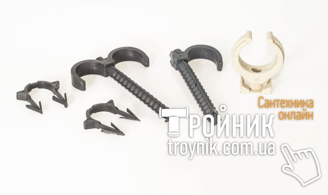 Крепежи для металлопластиковых труб