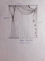 Текстильное оформление спальни  1