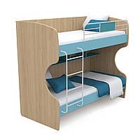 Двоповерхове ліжко Кв-12