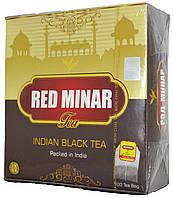 """Чай черный индийский """"MeriChai"""""""" Red Minar"""" 100пак 200г."""