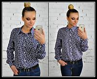 Стильная женская рубашка е-5041