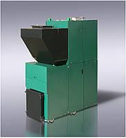 Твердотопливный котёл с автоматической подачей топлива 130 кВт пеллета/уголь