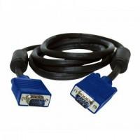 Кабель VGA - VGA длиной 1.8 м производства Этком черный с ферритовыми фильтрами