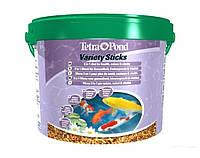 Tetra POND Veriety St.10L - смесь кормов для прудовых рыб