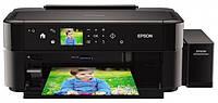 Струйный фотопринтер EPSON L810 СНПЧ + Печать на дисках