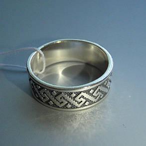 Серебряное кольцо Вышиванка, фото 2