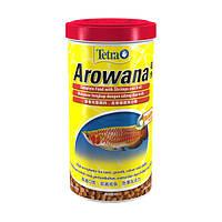 Tetra AROWANA 1L- корм для арован и других хищных рыб
