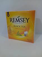 Чай в пакетиках REMSEY black tea 75шт