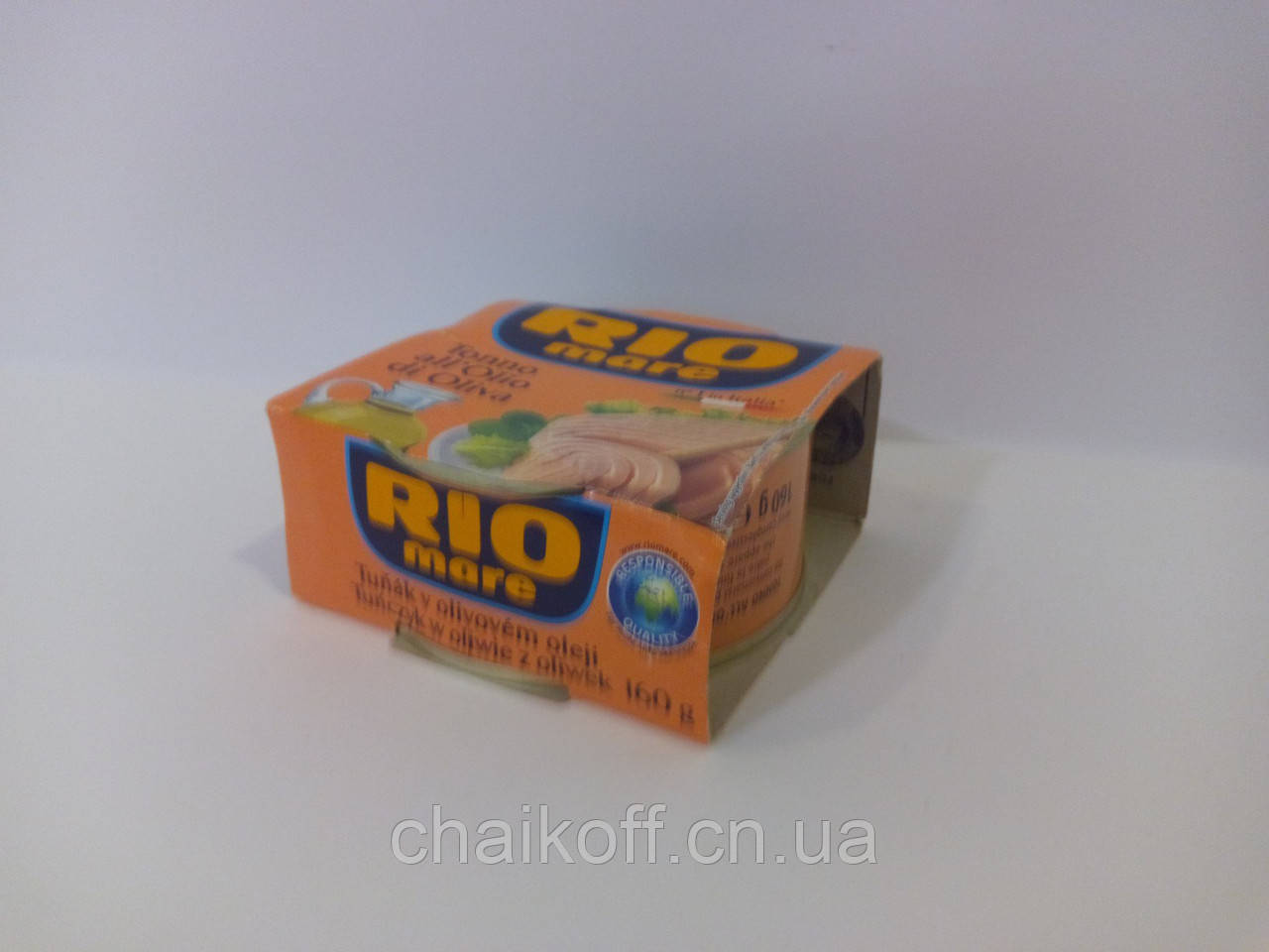 Тунець в оливковому  маслі RIO Mare Tonno all'Olio di Oliva 160g (шт.)